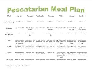 pescatarian meal plan